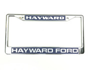 Hayward Ford License Plate Frame Reproduction Ford Performance Dealer