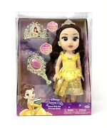 My First Disney Princess Belle Share With Me Doll With Tiara + Brush For Girl