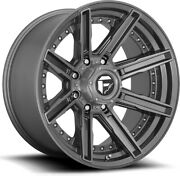Alloy Wheels 20 Fuel Rogue D710 Grey For Ford Ranger [mk3] 09-11