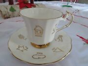 Red Rose Tea Cup Of Fortune Cup And Saucer England Bone China Taylor And Kent 2