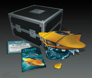 Voyage To The Bottom Of The Sea Flying Sub Diecast Metal Replica 186mb12