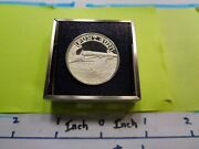 Punt Gun Used By Market Hunters On Boats Nra 999 Silver Coin Very Rare D