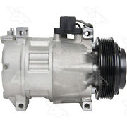 A/c Compressor And Clutch- New Four Seasons 78339
