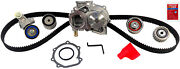 Engine Timing Belt Kit With Water Pump Gates Tckwp307a