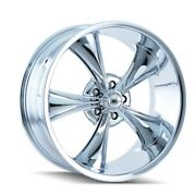 Cpp Ridler 695 Wheels 20x8.5 + 20x10 Fits Dodge Charger Coronet Dart