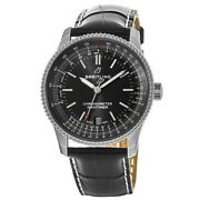 New Breitling Navitimer 1 Automatic 38 Black Dial Menand039s Watch A17325241b1p1