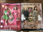 Juicy Couture Barbie 2 Body Set Collectible Dolls 18000 Limited Toy Figure853/ak