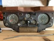 Dashboard Jaguar Xk140 Great Original Condition