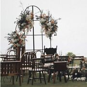 Backdrop Screen Flower Stand Arch Metal Wrought Iron Stage Party Home Decoration
