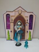 Monster High Doll, Frankie Stein, 13 Wishes, Complete,
