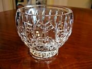 Gorgeous Waterford Crystal West Hampton Open Sugar,candy Nut Footed Bowl Mint