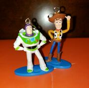 Toy Story 4 Buzz Lightyear And Woody Ceiling Fan/light Chain Pull