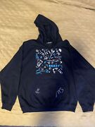 Mr Beast Limited Edition 24 Hour Live Stream Hoodie Hand Signed Size Large