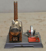 Wilesco Steam Boiler And Engine Toy Model Made In Germany Vintage Collectible