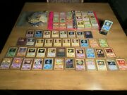Insane Bulk Pokemon Card Lot 1st And 2nd Edition Holos Legendaries And Starters.