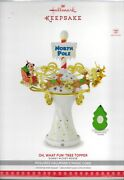 2017 Disney Mickey Mouse Oh, What Fun Tree Topper With Light And Music Nib