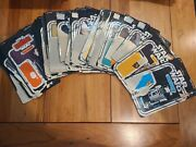 Vintage Star Wars Cardbacks All Original You Pick Complete Your Collection