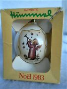 Authentic Hummel 2nd Annual Ars Edition Christmas Ornament Noel 1983