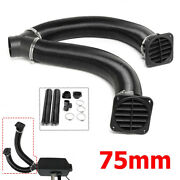 Heater Pipe Duct T-piece Warmer Air Outlet Vent For Webasto Diesel Heater 75mm