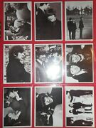 1964 Beatles Movie A Hard Days Night Complete 55 Card Set Topps Nmmt-mint