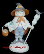 Dept. 56 Snowbabies I'm A Good Witch Let's Pretend Halloween Retired 69187 New