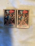 2 Vintage Coca Cola Playing Cards Be Really Refreshed Masquerade Full Deck
