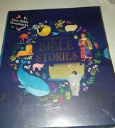 A Collection Of Bible Stories 4 Childrens Books Set Complete W- Case