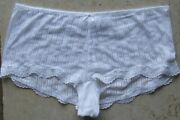 M And S Size 12 Boy Short Knickers Panties Briefs White
