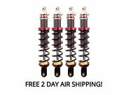 Elka Stage 1 Front And Rear Shocks Suspension Kit Can-am Renegade 850 1000