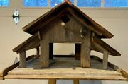 Cedar Bird Feeder Handcrafted With Reclaimed Wood The Ranch.andnbsp