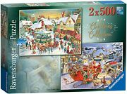 Ravensburger Christmas Collection No. 1 - 2 X 500 Piece Puzzle - New