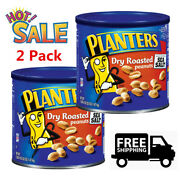 Planters Dry Roasted Peanuts 52 Oz. 2 Pack Free Shipping Hot