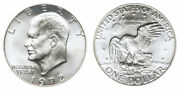 1972 S 40 Silver Us Ike Eisenhower Dollar Roll Of 20 Coins Choice Unc