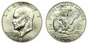 1974 S 40 Silver Us Ike Eisenhower Dollar Roll Of 20 Coins Choice Unc
