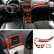 For Subaru Forester 2009-13 Peach Wood Grain Left And Right Air Outlet Vent Trim