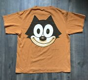 Vintage 1990's Felix The Cat Cat Wear Changes Made In The Usa