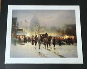 G. Harvey - We The People - Collectible Washinton Dc Print 1st Edition - Mint