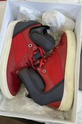 Authentic Balenciaga Mens Neoprene Strap Hitop Leather Sneakers  Auth