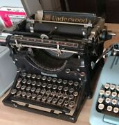 Vintage Underwood No. 5 Typewriter 1920s-early 30s Fully Functional Very Clean