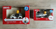 2 Brio Infant And Toddler - Push And Go Racer / 2017 Race Car Special Editions Toys