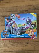 Paw Patrol Skyeand039s Ride N Rescue Transforming Helicopter Vehicle To Playset New