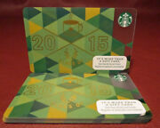 Lot Of 10 Starbucks, Class Of 2015 Gift Cards New With Tags