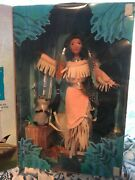Pocahontas Feathers In The Wind Barbie Doll Nib