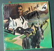Mars Attacks Theme Singer Slim Whitman Signed-autographed Best Of Record Album