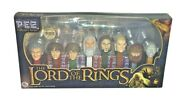 Pez   The Lord Of The Rings 8 Characters   Limited Edition   Unopened Dispensers