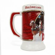 2020 Budweiser Clydesdale Stein W/ Coa - Brewery Lights Limited Edition