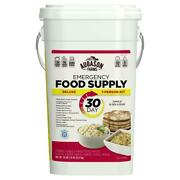 30 Day Emergency Food Survival Supply Prepper Bucket Storage Meals Rations Kit