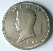 1972 Philippines Piso - High Quality Large Coin - Free Ship - Bin 163