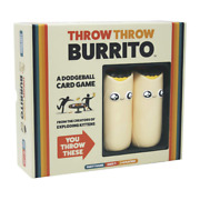 Throw Throw Burrito By Exploding Kittens - A Dodgeball Card Game, Free Shipping