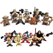 New 20 Star Wars Galactic Heroes Episode 3 And 4 Return Of The Jedi Sith Figures